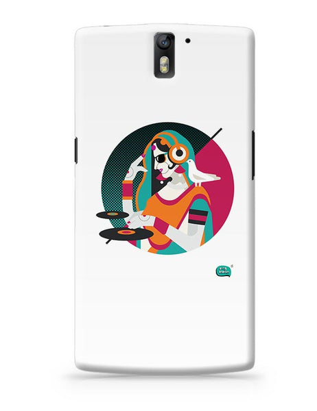 Dj Girl Desi Quirk OnePlus One Covers Cases Online India