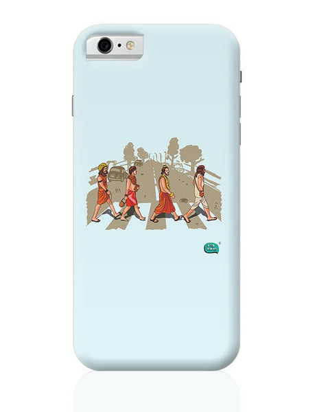 Sadhu Beatles Quirky Illustration iPhone 6 6S Covers Cases Online India