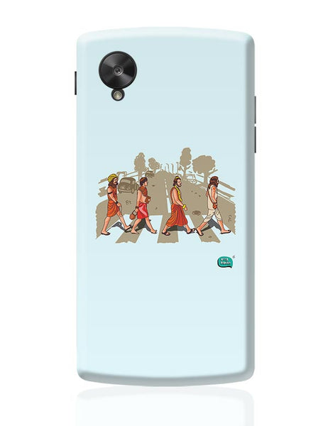 Sadhu Beatles Quirky Illustration Google Nexus 5 Covers Cases Online India