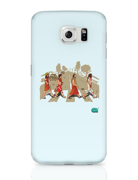 Sadhu Beatles Quirky Illustration Samsung Galaxy S6 Covers Cases Online India
