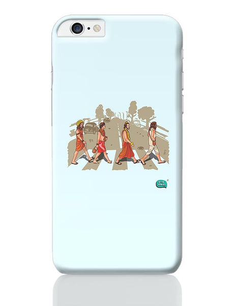 Sadhu Beatles Quirky Illustration iPhone 6 Plus / 6S Plus Covers Cases Online India