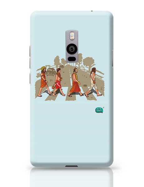 Sadhu Beatles Quirky Illustration OnePlus Two Covers Cases Online India