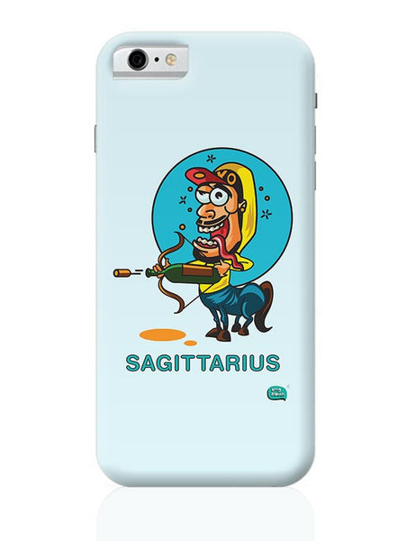 Saggitarius Funny Zodiac Illustration iPhone 6 / 6S Covers Cases