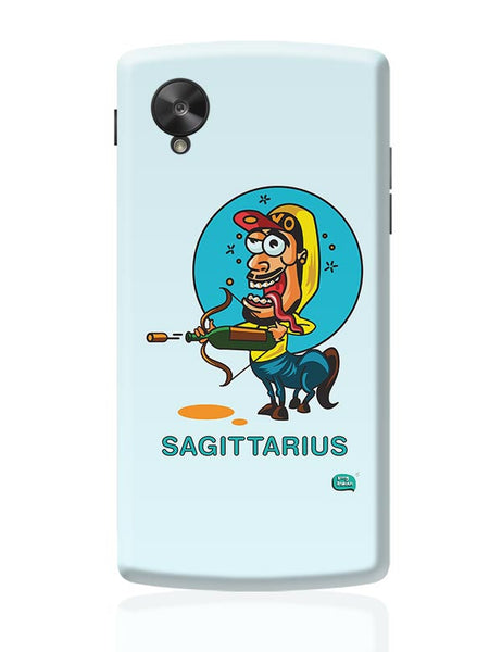 Saggitarius Funny Zodiac Illustration Google Nexus 5 Covers Cases Online India