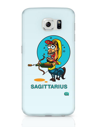 Saggitarius Funny Zodiac Illustration Samsung Galaxy S6 Covers Cases Online India