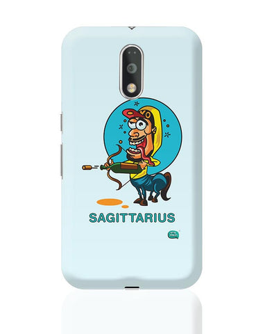 Saggitarius Funny Zodiac Illustration Moto G4 Plus Online India