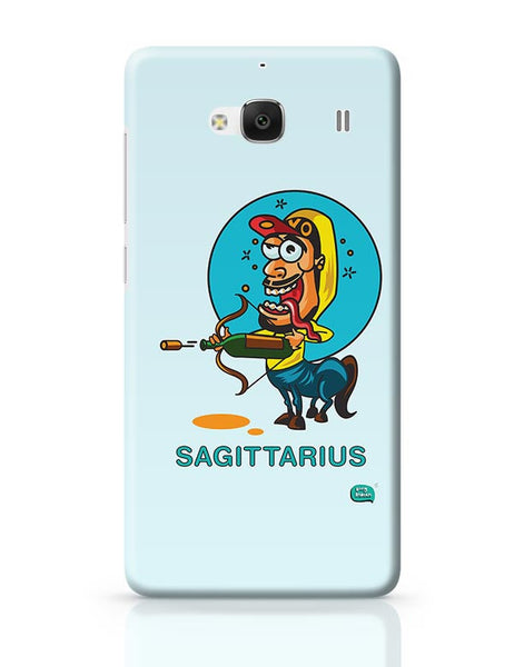 Saggitarius Funny Zodiac Illustration Redmi 2 / Redmi 2 Prime Covers Cases Online India