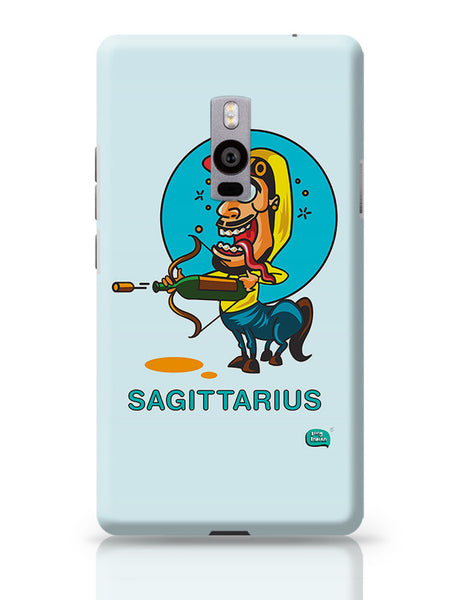Saggitarius Funny Zodiac Illustration OnePlus Two Covers Cases Online India