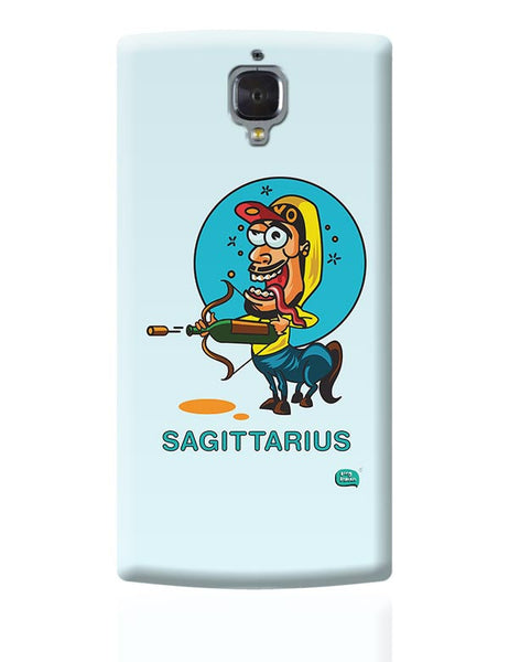 Saggitarius Funny Zodiac Illustration OnePlus 3 Covers Cases Online India
