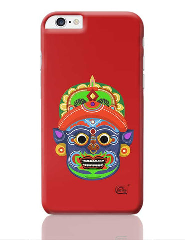 Kathakali Face Illustration iPhone 6 Plus / 6S Plus Covers Cases Online India