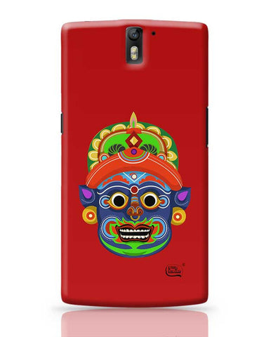 Kathakali Face Illustration OnePlus One Covers Cases Online India