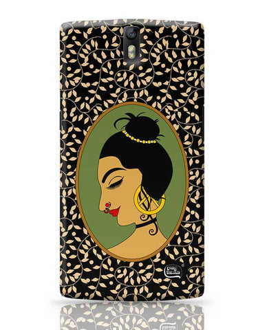 Rakasa Face Illustration OnePlus One Covers Cases Online India