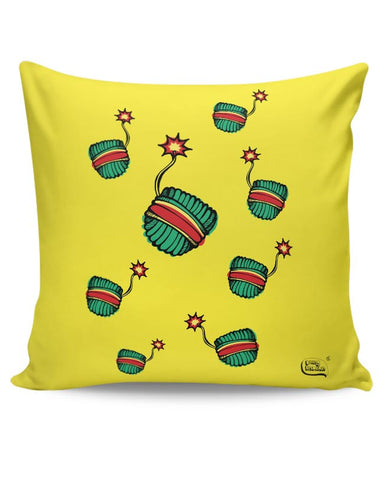 Baap Re Baap  Illustration Cushion Cover Online India