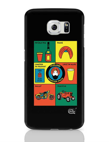 Punjabi- Starter Kit Illustration Samsung Galaxy S6 Covers Cases Online India