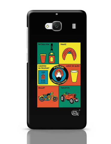 Punjabi- Starter Kit Illustration Redmi 2 / Redmi 2 Prime Covers Cases Online India