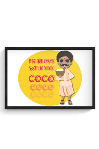 Framed Posters Online India | Coco Laminated Framed Poster Online India