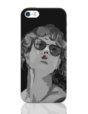 iPhone 5 / 5S Cases & Covers | Women In Black iPhone 5 / 5S Case Online India