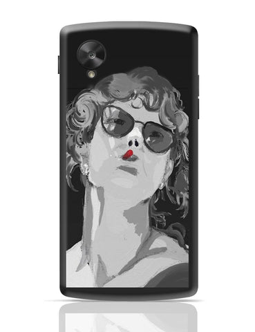 Google Nexus 5 Covers | Women In Black Google Nexus 5 Cover Online India