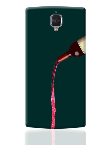 Over Wine OnePlus 3 Cover Online India
