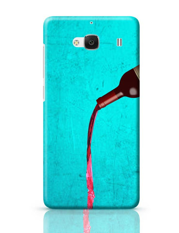 Xiaomi Redmi 2 / Redmi 2 Prime Cover| Over Wine Redmi 2 / Redmi 2 Prime Case Cover Online India