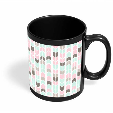 Coffee Mugs Online | Aztec Pattern Black Coffee Mug Online India