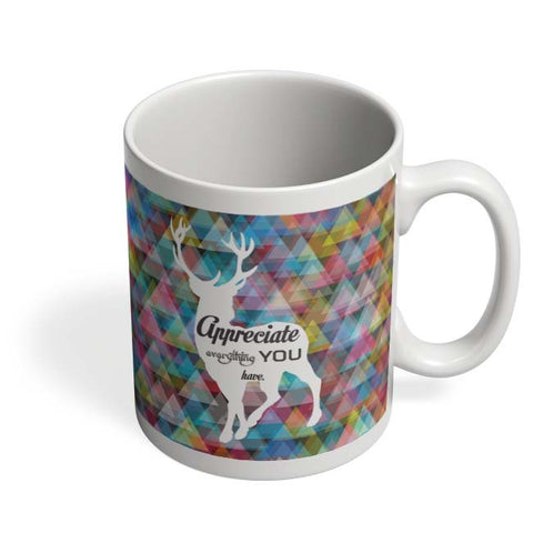 Coffee Mugs Online | Quote Deer Mug Online India