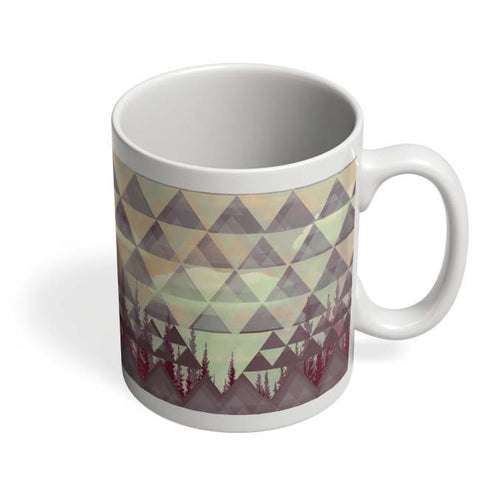 Coffee Mugs Online | Abstract Shapes Mug Online India