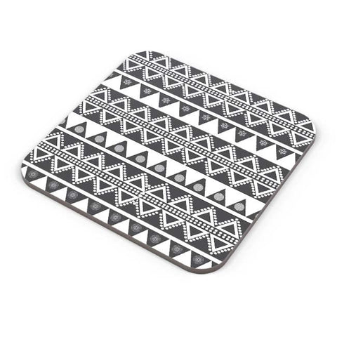 Buy Coasters Online | Tribal Pattern Coaster Online India | PosterGuy.in