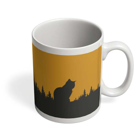 Coffee Mugs Online | Minimal Cat Mug Online India