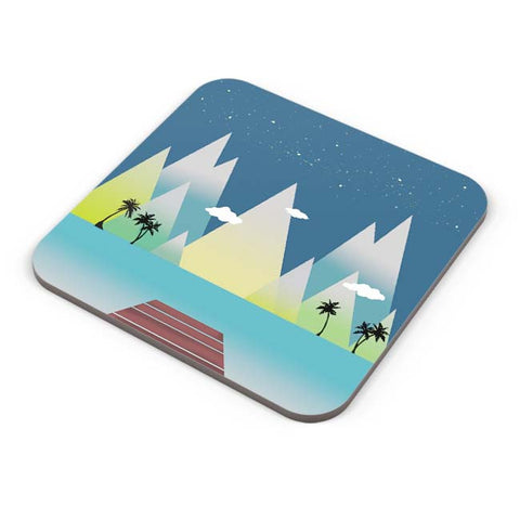 Buy Coasters Online | By The Ocean Coaster Online India | PosterGuy.in