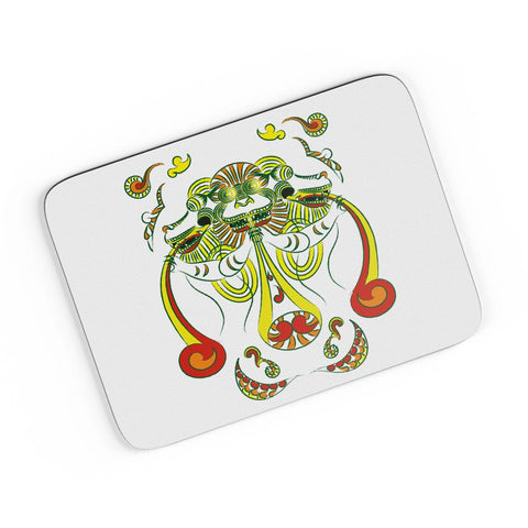 Vyali White 2 A4 Mousepad Online India
