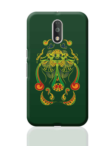 Vyali Green Moto G4 Plus Online India
