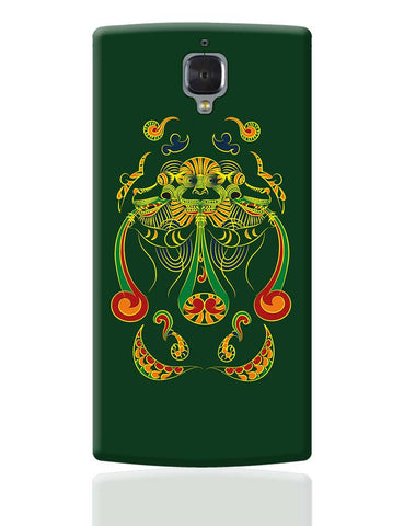 Vyali Green OnePlus 3 Cover Online India