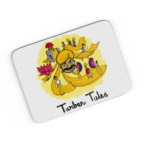 Turban Tales A4 Mousepad Online India