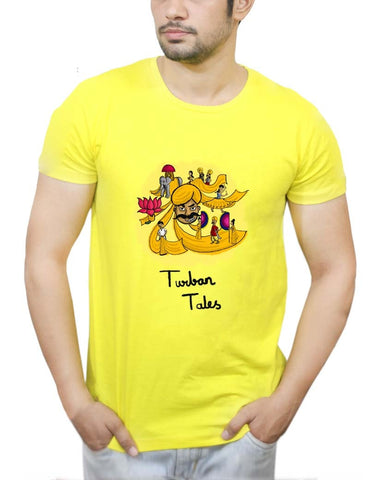 Buy Turban Tales T-Shirts Online India | Turban Tales T-Shirt | PosterGuy.in