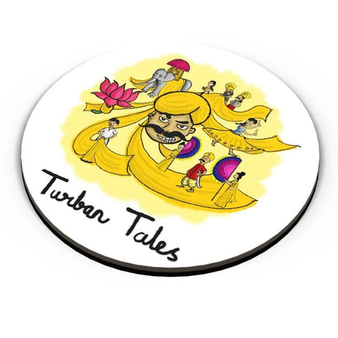 PosterGuy | Turban Tales Fridge Magnet Online India by Amritha Warrier