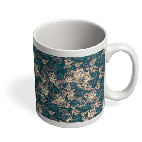Coffee Mugs Online | Dreamersassociation Floral Pattern Mug Online India