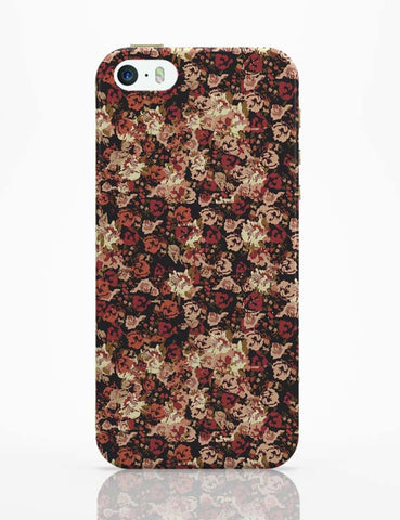 iPhone 5 / 5S Cases & Covers | Dreamersassociation Floral Pattern iPhone 5 / 5S Case Online India