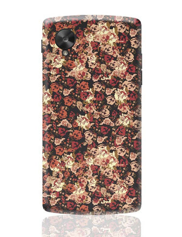 Google Nexus 5 Covers | Dreamersassociation Floral Pattern Google Nexus 5 Case Cover Online India