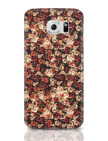 Samsung Galaxy S6 Covers | Dreamersassociation Floral Pattern Samsung Galaxy S6 Case Covers Online India