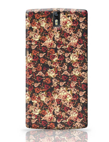 OnePlus One Covers | Dreamersassociation Floral Pattern OnePlus One Case Cover Online India