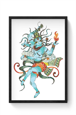 Framed Posters Online India | Nritya Niroopam Laminated Framed Poster Online India