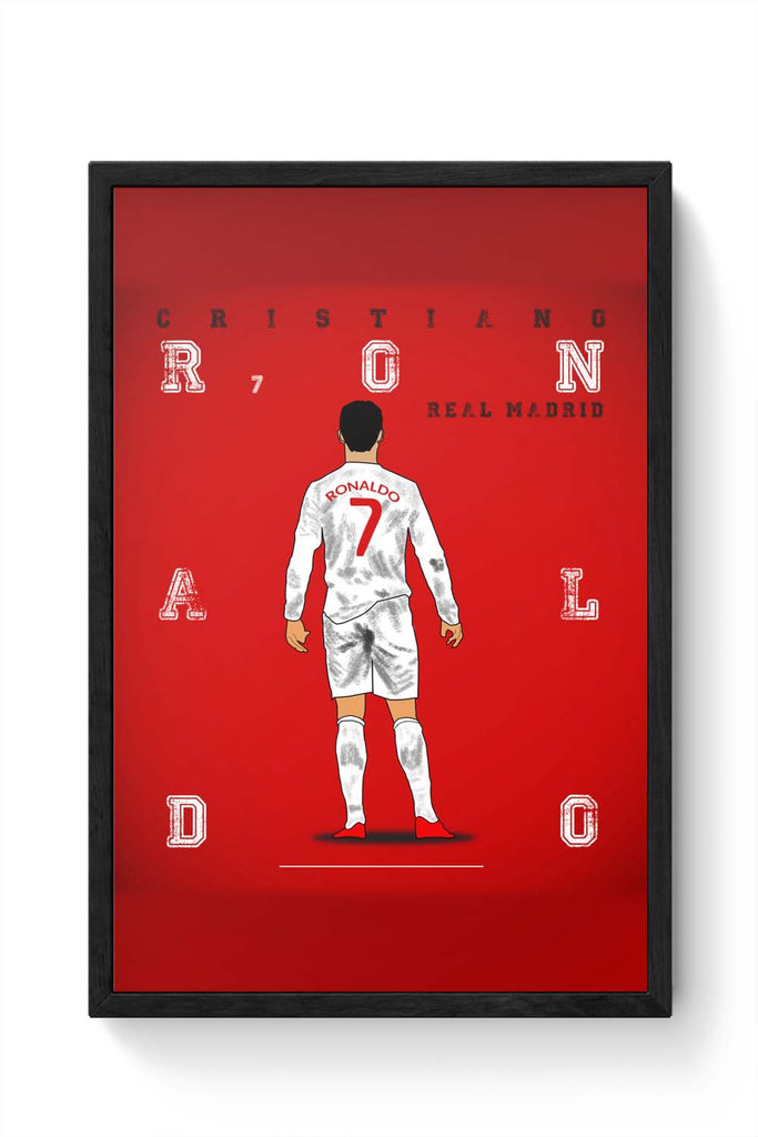 Framed Posters Online | Cristiano Ronaldo Laminated Framed Poster ...