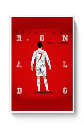 Posters Online | Cristiano Ronaldo Poster Online India | Designed by: Sourab Biswas