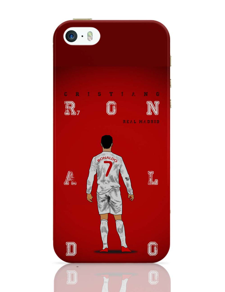 brand new 44dab 34677 Cristiano Ronaldo iPhone 5 / 5S Case