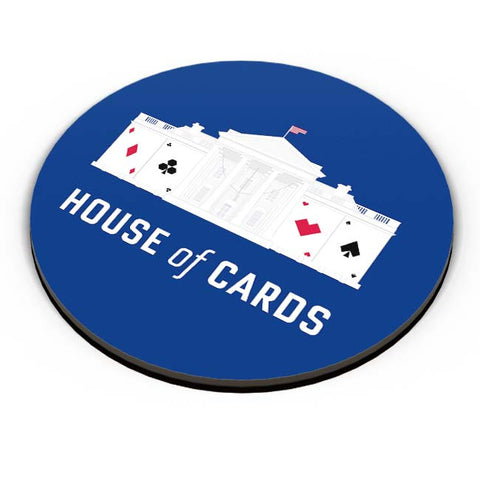 PosterGuy | House Of Cards Fridge Magnet Online India by Yash Banka