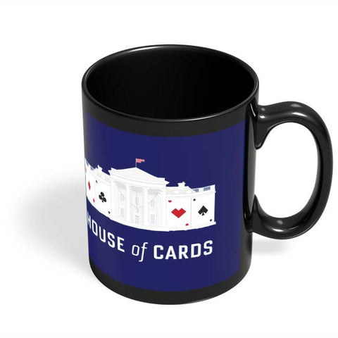 Coffee Mugs Online | House Of Cards Black Coffee Mug Online India