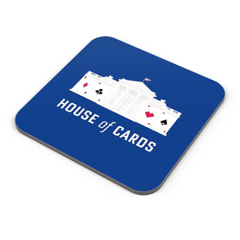 Buy Coasters Online | House Of Cards Coaster Online India | PosterGuy.in