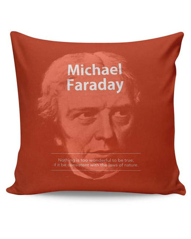 PosterGuy | Michael Faraday Cushion Cover Online India