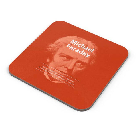 Buy Coasters Online | Michael Faraday Coaster Online India | PosterGuy.in